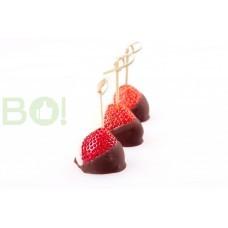Канапе Клубника в шоколаде  (10шт.)