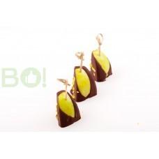 Канапе Яблоко в шоколаде  (10шт.)