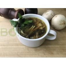 02. Суп лапша с грибами  (300г)