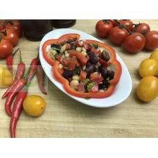 01. Салат из фасоли с перцем (150г.)