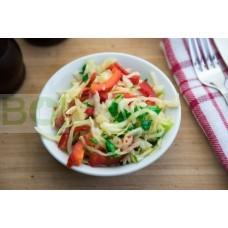01. Салат из капусты с перцем (150г)