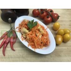01. Салат из спаржи и моркови (150г.)