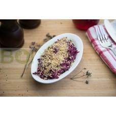 01. Салат Свекольный с грецкими орехами (150г)
